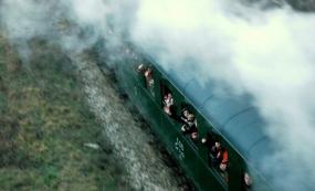 Jízda parním vlakem
