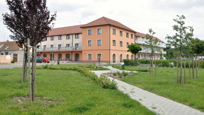 Dům pro seniory Vranovice současný stav